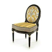 Mackenzie-childs Queen Bee 39.5 X 24 Side Chair New Display Sold Out Rare