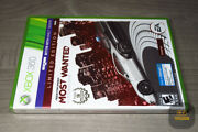 Need For Speed Most Wanted Walmart Exclusive Xbox 360 2012 Factory Sealed
