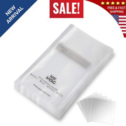 Vacuum Sealer Bags 100 Gallon 11x16 Inch For Food Saver, Seal A Meal, Weston.