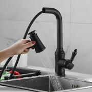 Kitchen Faucet Deck Installation Sink Faucet With Sprinkler Pull-out Water Taps
