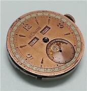 Vintage Jaeger Lecoultre Moonphase Watch Movement And Dial For Parts