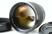 Contax Rts 85mm F/1.2 Aeg 50th Lens Excellent+ Japan/8019