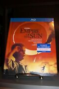 New Empire Of The Sun Digibook Blu-ray Oop Rare 2-disc Set - Ships In Box