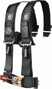 5 Point Seat Harness For Arctic Cat Prowler 550 Xt 2011-2015 2 Pad Black