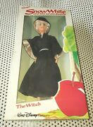 Rare Vintage The Witch Disney Snow White And The Seven Dwarfs The Witch Doll 11.