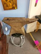 Mandh Armitage Anvil Mouse Hole Forge Sheffield Antique 140lb Blacksmithing Tool