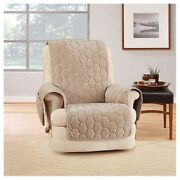 Sure Fit Silky Touch Recliner Chair Protector