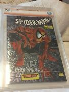 Andnbspmarvel Collectible Classics Spider-man 2 Chromium. Signed By Todd Mcfarlane