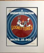 Warner Brothers Cel Insectes Bunny Whatand039s Up Doc Signandeacute Friz Freleng Animation