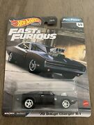 Hot Wheels Fast And Furious Full Force Andlsquo70 Dodge Charger R/t