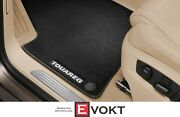 Original Vw Touareg 7p + Facelift Premium Velour Floor Mats 4pcs Set Carpets Lhd