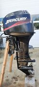2005 Mercury 40 Hp With 20 Shaft- 3 Cyl With Power Trim/tilt- Runs Excellent