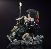 In Stock Bleach Zaraki Kenpachi Statue Figurine Figure Painted Resin Gk Model