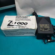 Mth Electric Trains Inc Model Z1000 Power Supply Hobby Transformer Used