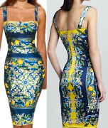 Sale Gorgeous Dolce And Gabbana Italy Runway Dress Size 42-44 3500.00