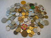 Lot Of 160 United States, Canada Vintage Transit, Tax, Gaming And Merchant Tokens