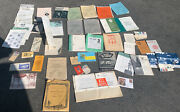 Huge Lot Of 1950s -1960s Explorer And Boy Scouts Of America Bsa Books And Ephemera