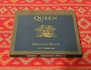 Queen Greatest Hits Volume 2 Minidisc Album Radio Ga Itand039s A Kind Of Magic Live
