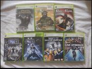 Lot Of 7 Xbox 360 Video Games Star Wars Of Persia Crackdown And More
