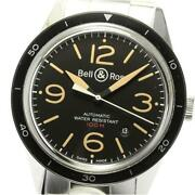Bell And Ross Sports Heritage Date V-br123sport-heri-m Automatic Menand039s [e0514]