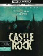 Castle Rock The Complete First Season [new 4k Uhd Blu-ray] Black Wit