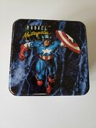 1992 Marvel Masterpieces Open Factory Tin Set Complete Set Lost Ladies And Inserts