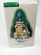 Dept 56 North Pole Around The World In 24 Hours Flight Center 56.56790 Perfect