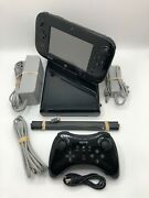 Nintendo Wii U 32gb Deluxe Console Gamepad Complete System Set W/ Pro-controller