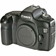 Canon Eos 5d 12.8 Mp Digital Slr Camera Body Only