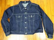 Womenand039s Dark Wash Denim Jacket - Venezia Jeans - Size 18/20