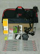 New Hoyt Carbon Rx-4 Alpha Bow Package-3 Cam 28 To 30- 60/70 Lb- Redwrx- Rx4