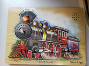 Melissa And Doug Wooden Jigsaw Puzzles - Train Sound Puzzle Sound Not Working