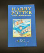 Harry Potter And The Chamber Of Secrets Deluxe Edition Signed With Coa