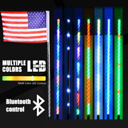 Al4x4 4ft Led Whip Lights 360anddegspiraling Rising Dream Wrapped Dancing Whips With
