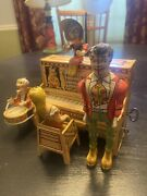 Lil Abner And His Dogpatch Band Wind-up Toy By Unique Art, Vintage 1945
