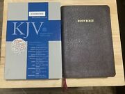 Cambridge Kjv Concord Bible Burgundy French Morocco Leather Thumb Indexed