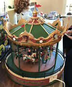 Lemax - Jungle Carousel - New In Styrofoam No Outer Box