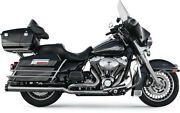 Bassani Manufacturing True Dual Down Under Headpipe With Heat Shield 11415a