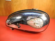 Antique Motorcycle Bsa B40 Late C15 Used Fuel Tank Gas Tank Original 1960and039s