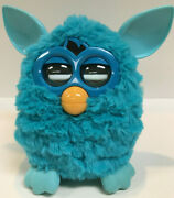 Furby Boom Original Teal Blue Plush Tiger Electronics 2012 Tested Working Clean