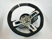 Ford Mustang 2015 2016 2017 Gt350 Shelby Steering Wheel ⭐⭐ White Stitching ⭐⭐
