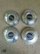 Ford Vintage Galaxie Fairlane Ltd Police Fomoco Hubcaps Wheel Covers Center Caps