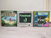 Friday Finished Fire Friedemann Friese Solo Games Lot Rio Grand Games