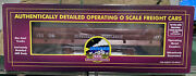 O Scale Mth 20-98292 Western Maryland 1477 Dump Car With Operating Bay