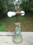 1920and039s Lenox Art Nouveau Vase Lamp Hand Painted Bailey Banks And Biddle New Wiring