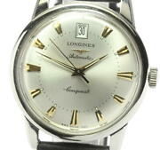 Longines Conquest Heritage Date L1.611.4 Automatic Menand039s From Japan N0517