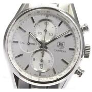 Tag Heuer Carrera Car2111-3 Cal.1887 Date Chronograph Automatic Menand039s [e0517]