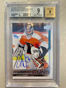 2019-20 Ud Buybacks Carter Hart Young Guns Auto Rookie Rc 73/79 Graded Bgs 9