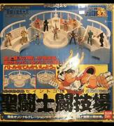 Used 1990and039s Bandai Saint Seiyaand039s Colosseum Toy With Box And Instructions
