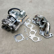 Ct9 Turbo Water Cold+exhaust Manifold For 90-07toyota Ep82 Ep85 Ep91 4efte 1990-